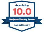 AVVO Rating 10.0 - Top Attorney